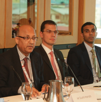 SSushil Handa at CommonWealth Business Forum, Sushil Handa